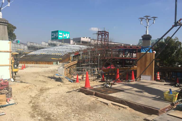 【宝塚市】ガーデンフィールズ跡地の工事がすすんでいます!公園やカフェもできるとか。完成は2020年春!