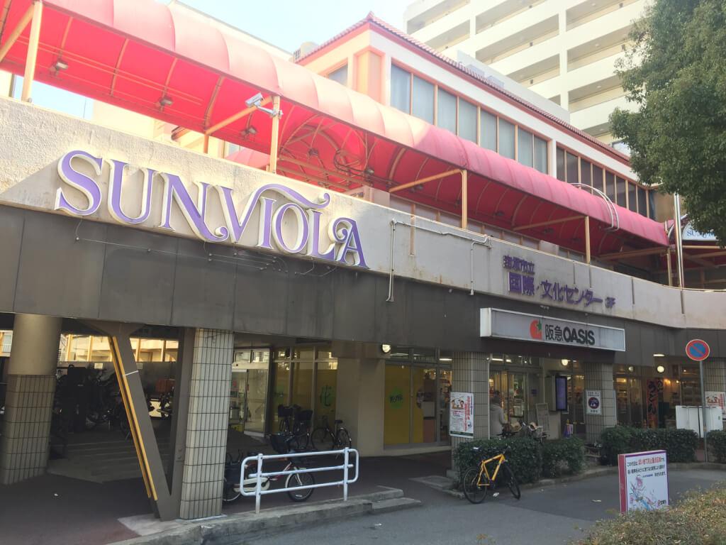 宝塚南口のサンビオラ外観