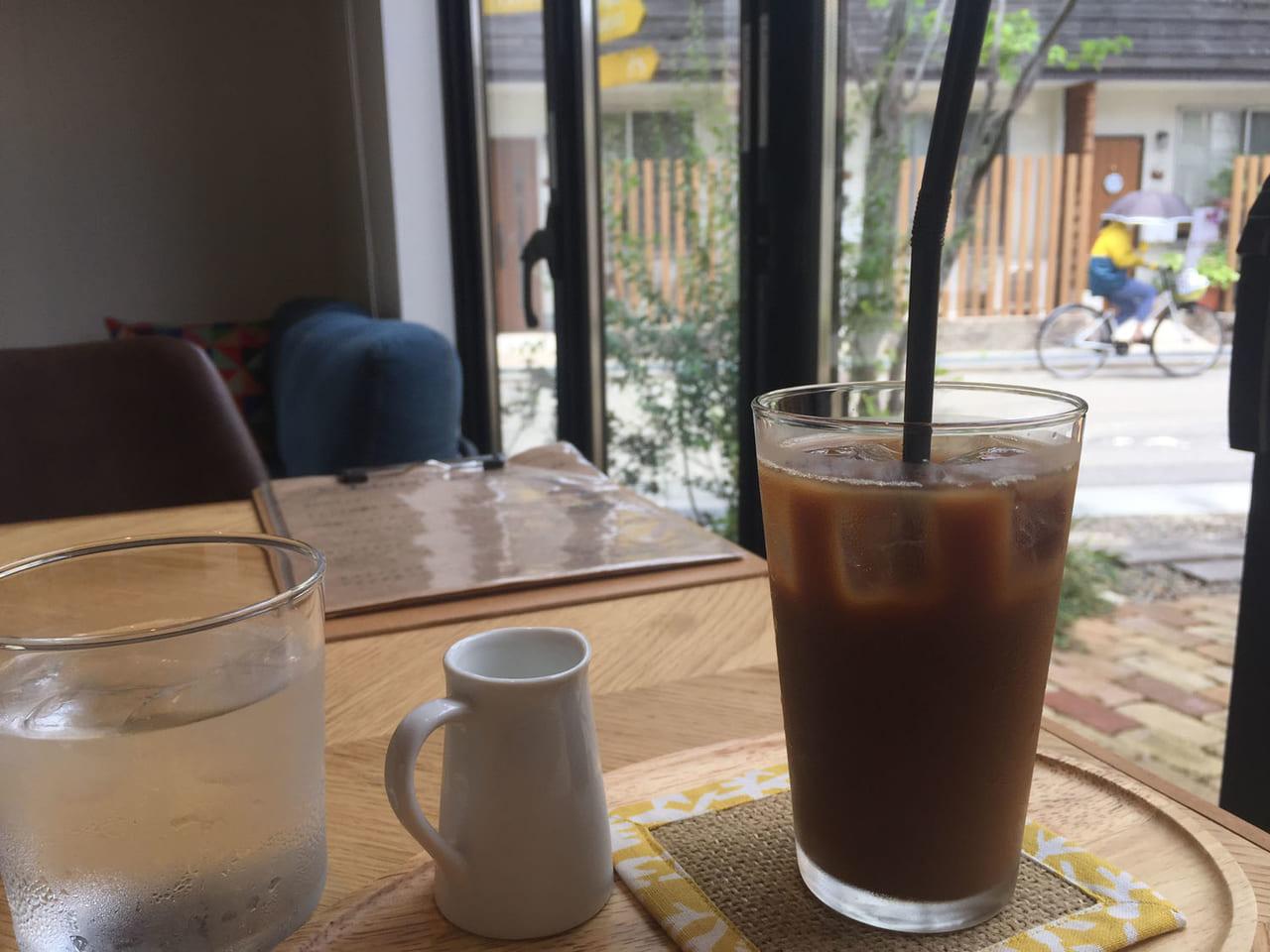 カフェリーフのコーヒー