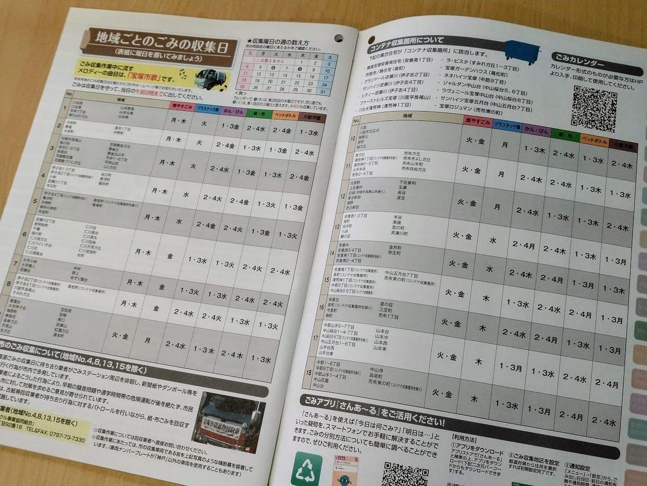 市 ゴミ カレンダー 宝塚