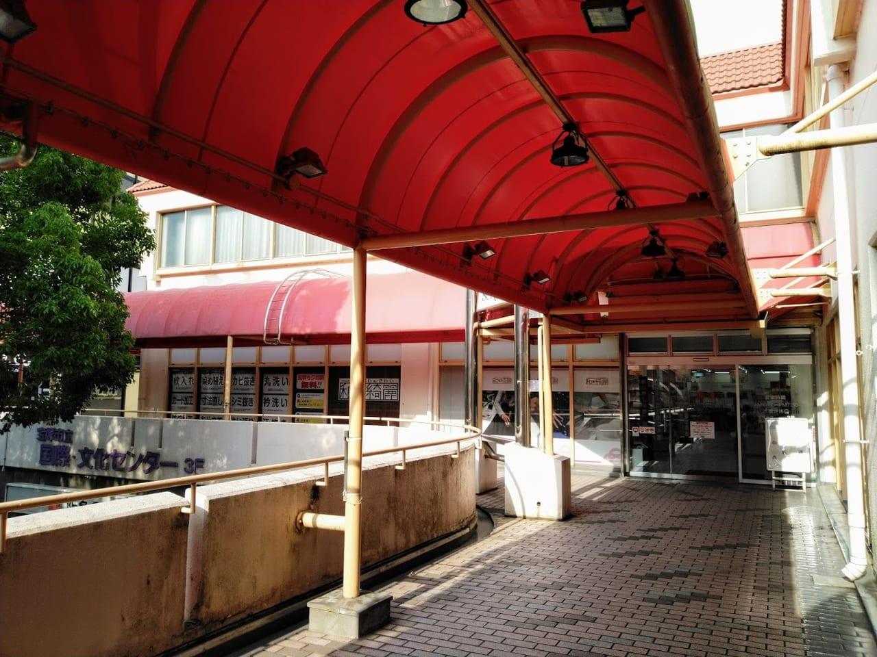 サンビオラ1番館は宝塚南口駅直結です