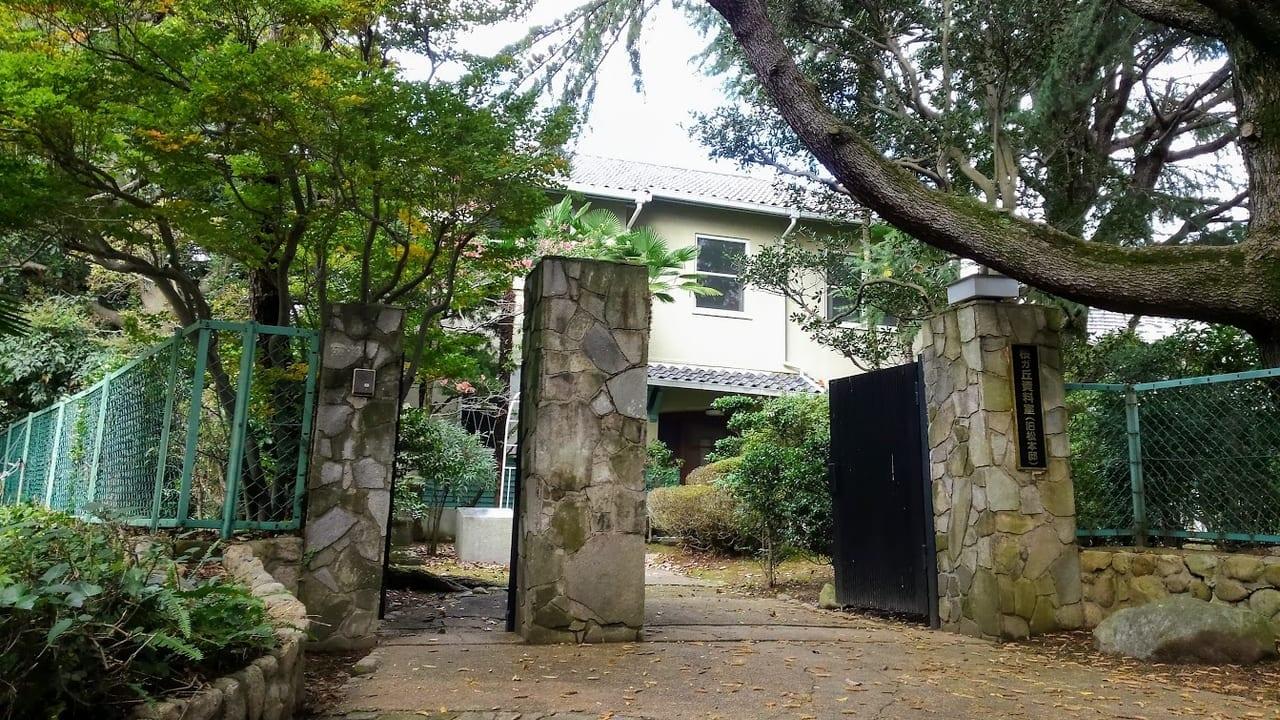 旧松本邸入口