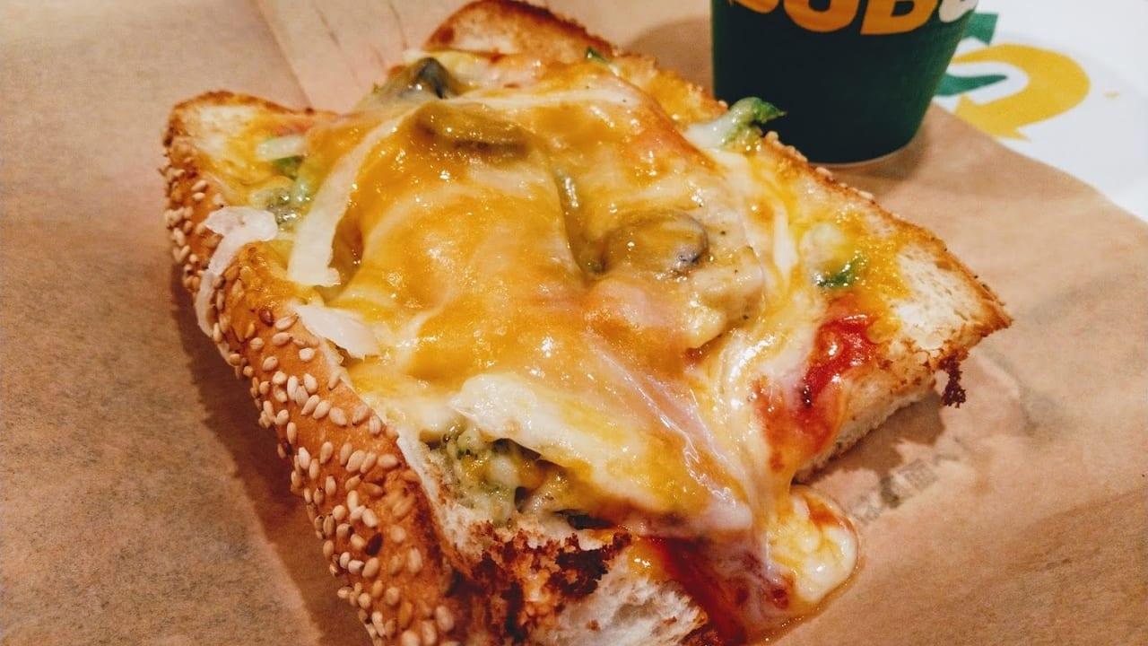 ピザサブバジルトマトチキン