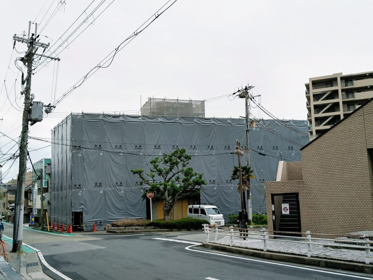 木本家具の建物